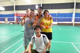 2009.8羽毛球比赛