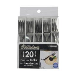 20pcs Mini Plastic Forks-101092