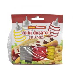 3pcs Cake & Cookie Squeeze Decorating Bottles-84030